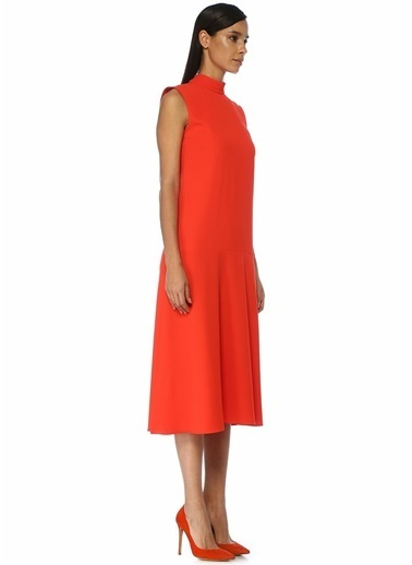 Victoria Victoria Beckham Elbise Kırmızı